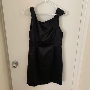 Yoana Baraschi Cotton and Silk Black Dress